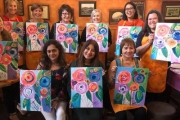 Craving Creativity? Unleash Your Inner Van Gogh w/ a 2-Hour Social Painting Class from Paint Along! Upgrade & Bring Up to 3 Friends. 3 Locations