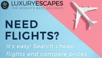 Discover the Newly-Launched Flight Search Feature on Luxury Escapes! Find Flights to Anywhere in the World & Enjoy a Personalised, High-Quality Service