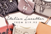 Bag Some Eye Candy for Your Arm w/ the Italian Leather Handbag Clearance! Shop Totes, Cross Bodies & More! Plus Beaded Clutches & More. Plus P&H