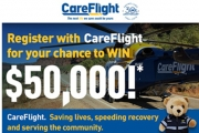 Register with CareFlight for Your Chance to Win $50,000 Cash! CareFlight - Saving Lives, Speeding Recovery & Serving the Community. Sign Up Now!