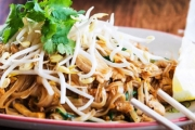 Give In to Your Thai Cravings with a Stunning Thai Lunch & Bottle of Water @ Five Stars Thaitanic! Chicken Pad Thai, Som Tum Laos & More. 5 Locations