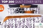 Sleep More Soundly w/ this Best Quilt Cover Sets Sale! Up To 60% Off Big Brand Names Incl. Sheridan, KAS, Gioia Casa & More. Single-King Sizes