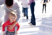 Get Into the Festive Spirit with the Frostival Pop Up Christmas Ice Rink with Skate Hire in Joondalup! Lots of Fun for the Whole Family