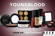 Achieve a Flawless Complexion w/ this Range of Youngblood Mineral Cosmetics! Shop Foundation, Eyeshadow, Contour Palettes & More + Free Shipping