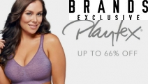 Refresh Your Lingerie with this Playtex Bras Collection! Find Your Perfect Fit with Up to 66% Off Comfort Flex Fit Bra, Curvy T-Shirt Bra & More