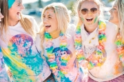Join the Color Run™ & Run, Skip or Walk 5K while Getting Covered in Colours! Incl. Goody Bag w/ a T-Shirt, Headband & More. + Booking Fee