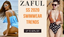 Get Your Hands on the Hottest SS 2020 Swimwear Trends w/ Up to 60% Off @ ZAFUL! Range of Styles & Prints - Bandeau Bikinis, Tankinis, One-Pieces & More!