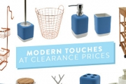 Give Your Home a Modern Update w/ the Kitchen & Bathroom Clearance! Functional & Stylish Incl. Fruit Bowls, Organisers, Cocktail Shakers & More