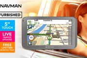 Enjoy Stress Free Driving w/ this Navman MY650LMMT GPS Navigator! Incl. Monthly Map Updates, Live Traffic Updates, Bluetooth, Safety Alerts + More