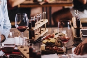 Enjoy Good Food & Drops w/ a Grazing Platter & Wine Tasting for 2 @ Noisy Ritual! Ft. 6 Wines, Gourmet Cheeses & More. Opt to Add a Bottle of Wine