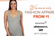 Ladies Get Your Hands on this Collection of Women's Apparel Sale From $1! Shop Must-Have Wardrobe Staples from Betty Basics, All About Eve & More