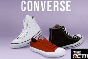 Pump Up Your Kicks w/ a Pair of Classic Converse! Choose From a Variety of Styles & Colours. One of the Most Timeless Shoes, Perfect w/ Any Outfit
