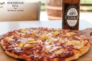Dive into a Delectable Pizza & Cider or Wine for One at Kersbrook Hill Wines, in the Stunning Adelaide Hills Wine Region! Upgrade for Two Ppl