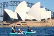 Get Outdoors & See Sydney from a Whole New Perspective w/ a 2-Hour Sydney Harbour Kayaking Experience. Upgrade for Abseiling & Canyoning Combo