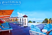 BALI Unwind in 5* Beachfront Luxury at the Pullman Bali Legian Nirwana Resort! 7-Nights for 2 Adults & 2 Kids Under 8, Incl. Massages, Brekkie & More