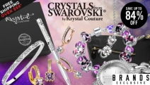 Look Stunning for Less w/ the Crystals From Swarovski® By Krystal Couture EOFY Sale! Enjoy Up to 84% Off Earrings, Multi Colour Stud Sets & More