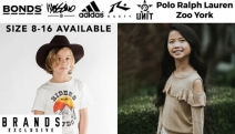 Style Up Your Trendy Tween with the Tween Fashion Edit Sale! Shop Big Brands Mossimo, Bonds, Rusty, Zoo York, Polo Ralph Lauren, Adidas & More