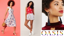 Infuse a Dash of Colour to Your Spring Wardrobe with the Oasis Sale! Shop On-Trend Maxi Dresses, Swimwear, Shirts, Accessories, Footwear & More