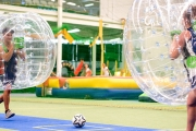 Let Loose in the Massive Indoor Playground for Kids & Adults w/ the Ultimate Inflatables Experience for 2! Velcro Wall, Jousting Field & More