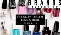 Polish Off Your Look w/ this Vibrant Range of Nail Polishes & Kits, Perfect for Cooler Days! Shop OPI, China Glaze, Sally Hansen & More. Plus P&H
