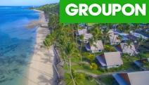 FIJI W/ FLIGHTS 7-Night Coral Coast Getaway at Fiji Hideaway Resort & Spa! Fly & Flop in a Frangipani Bure w/ Return Int'l Flights, Pampering & More