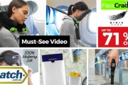 Travel with Ease & Comfort with the Face Cradle Travel Pillow, Plus Other Top Travel Accessories! Save Up to 71% Off Bags, Soft Padded Eye Masks & More