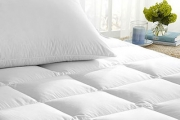 Feather Your Nest with Cosy Duck Feather & Down Bedding Incl. Quilts, Pillows & Mattress Toppers! Combines Cloud-Like Feel w/ Powerful Warmth