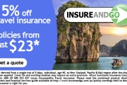 Travel Stress-Free with 15% off Competitive Travel Insurance from InsureandGo! Exclusive to Spreets Members, Use Code: Spreets15. Limited Time Only!