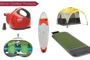 Camping Made Easy! Shop the Range of Coleman Camping Gear from Just $25! Think Tents, Gazebos, Pumps, Inflatable Mattresses, Sleeping Bags & More