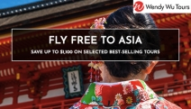 Fly Free to Asia w/ a Range of Best-Selling, All-Inclusive Tours from Wendy Wu! Secure Your Spot w/ $99 Deposit! Hurry, Limited Time Only. T&C's Apply