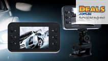 Record Video While Driving & Capture Every Moment w/ the Motion Detection HD In Car Camera w/ Night Vision, Built-In Speakers & Mic & More