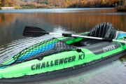 Get Out on the Water with a One or Two Person Inflatable Kayak! Easy to Pack Up & Transport, Transforms Into Outdoor Fun in Minutes. Incl. Carry Bag