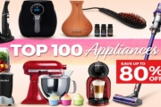 Upgrade Tired Appliances in Your Home w/ Up to 80% Off Top 100 Appliances! Ft. Dyson Handstick Vacuum, NutriBullet Blender Set, Milano Diffuser & More
