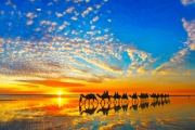 BROOME, WA Indulge in a Romantic Getaway on Famous Cable Beach w/ 5 Nights at 5* Kimberley Sands Resort! Incl. Discounts on Tours, Spa Credits & More