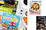 Create Mouth-Watering Dishes & Desserts w/ this Collection of Australian Women's Weekly Cookbooks from $9.99! Incl. Baking, Low-Carb Titles & More