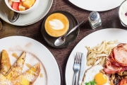All Aboard the Groove Train Brighton for All-Day Brekkie Plus Coffee, Tea or Juice for Just $19 for Two! Brekkie Burrito, Spanish Savoury Eggs & More