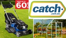 Keep Your Yard in Tip Top Shape with Up to 60% Off Backyard Blitz! Shop a Range of Lawn Mowers, Greenhouse Garden Sheds, Compost Tumbler Bins & More