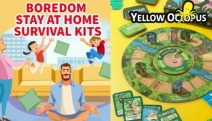 Beat Boredom & Enjoy a Fun-Filled Time at Home with Your Family with Games & Puzzles from Yellow Octopus! Ft. Trivia, Mind-Benders, Board Games & More