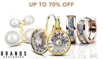 Add a Little Sparkle to Everyday w/ this Mega Earrings Sale, Ft. Pieces w/ Crystals from Swarovski! Enjoy Up to 70% Off Dazzling Hoops, Studs & More