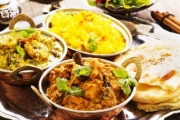 Enjoy a Tempting 5-Course Indian Feast + Bottle of Wine for 2 @ Olive Green Kitchen! Chicken Kebab, Beef Keema Curry & More. Upgrade for 4-6-Ppl