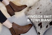 Update Your Shoe Collection w/ the Tony Bianco & Windsor Smith Shoe Sale! Shop On-Trend Styles Incl. Ankle Boots, Flats & Heels. Plus P&H