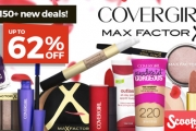 Replenish Your Favourite Make Up Products from Max Factor & CoverGirl. Shop Foundation, Lipstick, Liquid Eyeliner, Primer & Much More. Plus P&H