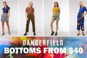 Add a Splash of Colour into Your Wardrobe with Bottoms from $40 at Dangerfield! Shop Cool, Chic Hues & Designs on Shorts, Pants, Skirts & More