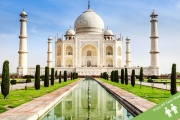 INDIA TOUR 9-Night Wildlife Tour! See Old & New Delhi, Gandhi's Memorial, the Raj Ghat, the Taj Mahal & More. Incl. Accommodation, Some Meals & More