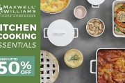 Whip Up Delicious Home-Cooked Meals with the New Maxwell & Williams Kitchen + Cooking Essentials! Save Up to 50% Off Casserole Dishes & More