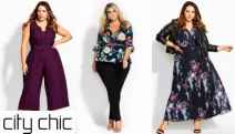 Build a Wardrobe for Less That Flatters Your Curves w/ the City Chic Sale! Shop the Range of Stylish Tops, Maxi Dresses, Jumpsuits, Denim & More