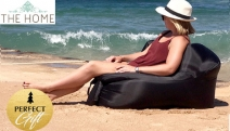 Spend Lazy Days Under the Sun w/ a Go-Anywhere Inflatable Air Lounger! Inflates in Seconds & No Pump Needed. Perfect for the Beach, Pool + Festivals