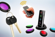 Never Lose Your Keys Again! Find Lost Keys, Remotes, Purses & More Quickly & Easily w/ a Remote Key Finder! Track Up to 4 Items, Simple & Easy to Use