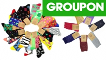 Forget Dull Winter Colours! Add a Touch of Vibrancy to Your Style w/ these Fun Novelty Socks! Available in Multi-Packs w/ Styles for Men & Women
