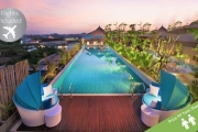 KUTA w/ FLIGHTS Rediscover Bali from the Lap of Luxury at Ramada Bali Sunset! 4-Night Stay w/ Brekkie, Massages, Cocktails, Dinner Experience & More